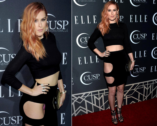 Rumer Willis Panty Flash