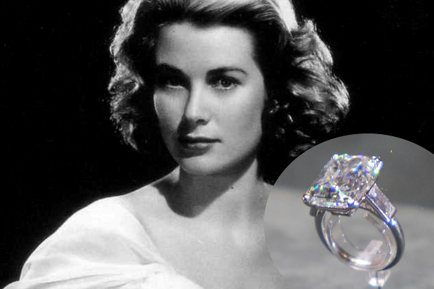 Grace Kelly Engagement Ring From Prince Rainier