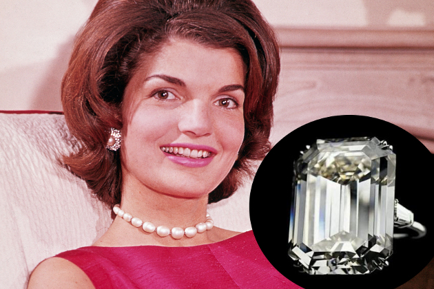 Jackie O Engagement Ring From Onassis