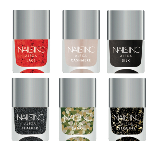 Nails Inc Alexa Chung Nail Polishes