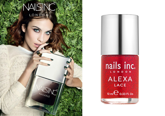 Nails Inc. Alexa Chung Fabric Inspired Nail Polish Collection