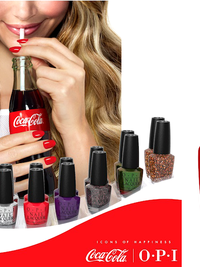 OPI Coca Cola Nail Polish Collection for Summer 2014