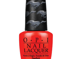 Take a peek at the new and limited edition tones from the upcoming OPI Ford Mustang nail polish collection for summer 2014!