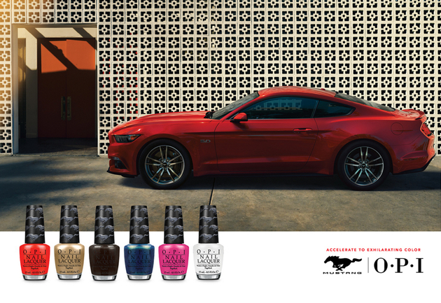 OPI Ford Mustang Nail Polish Collection for Summer 2014