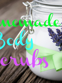 Simple DIY Body Scrub Recipes