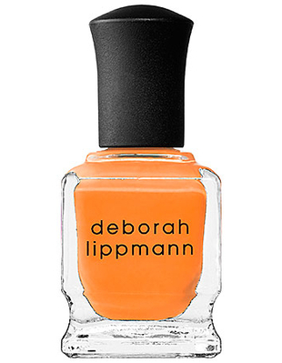 Deborah Lippmann Orange Nail Polish