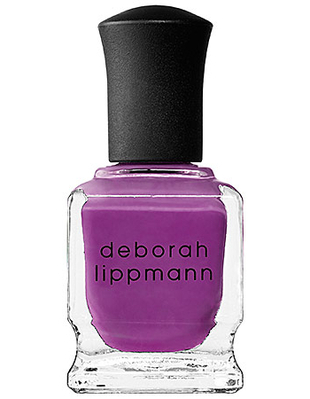 Deborah Lippmann Purple Nail Polish