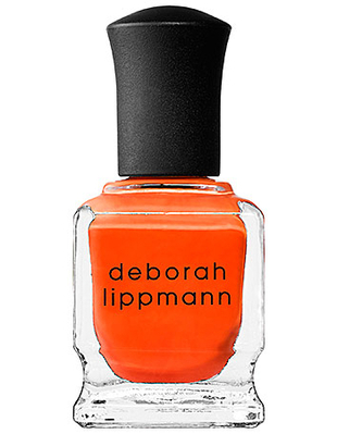 Deborah Lippmann Red Orange Nail Polish