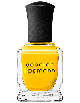 Deborah Lippmann Yellow Nail Polish