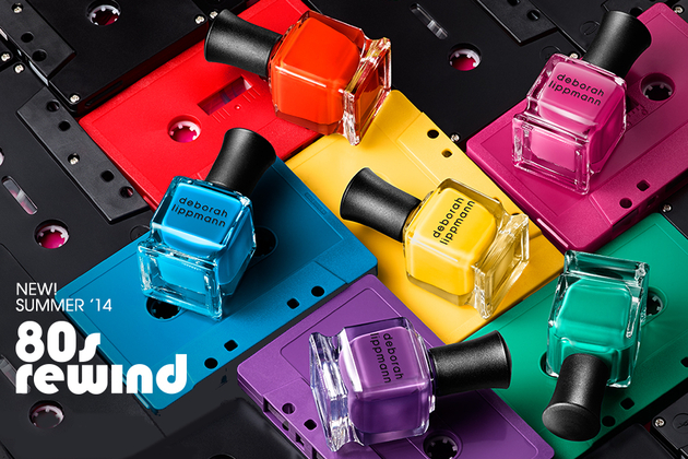 The 80s Inspired Deborah Lippmann Summer 2014 Nail Polish Collection