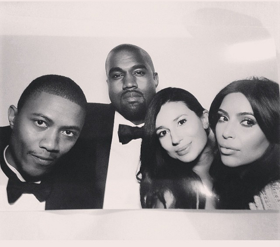 Kim Kardashian Kanye West Wedding Photo