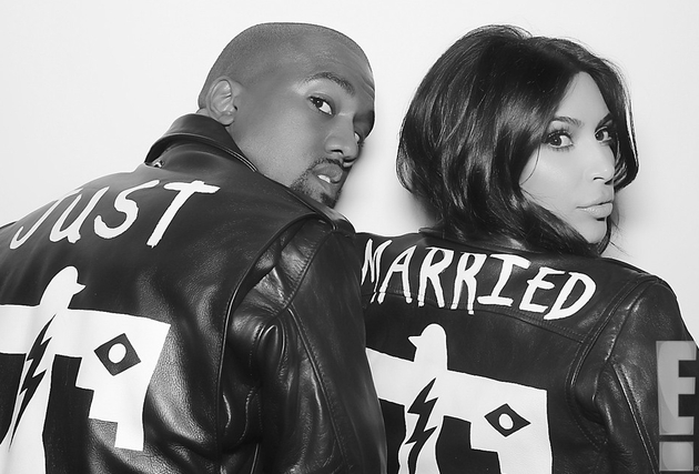 Just Married Kanye