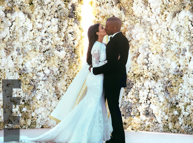 Kimye Wedding Photos Official