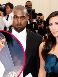The Glamor Behind Kim Kardashian and Kanye West's Wedding