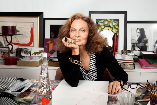 Diane Von Furstenberg Forbes Most Powerful Women 2014