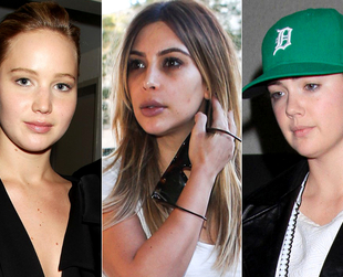 They're Just Like Us (If Not Worse)! Celebrities Without Makeup