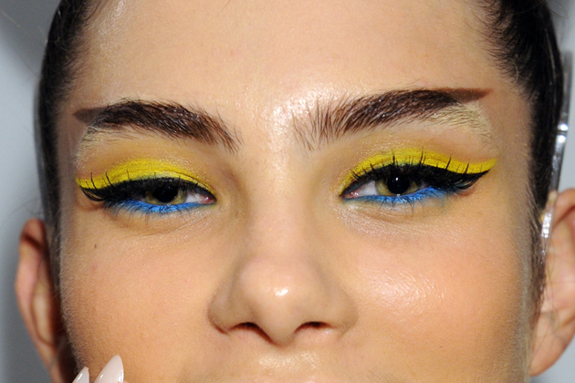 Two Tone Eyeliner Trend