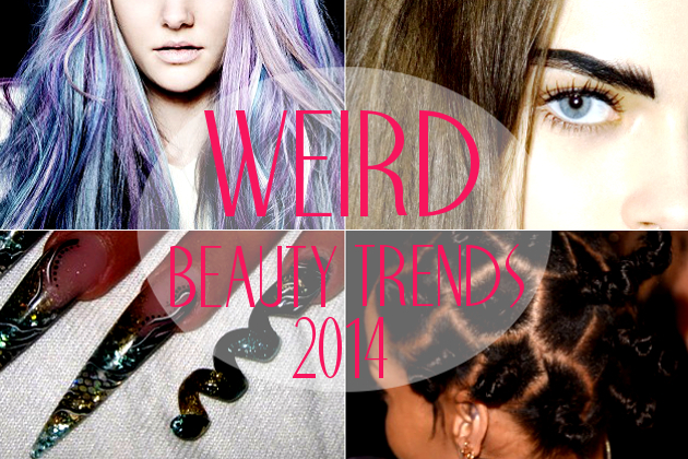 Weirdest Beauty Trends of 2014...So Far!