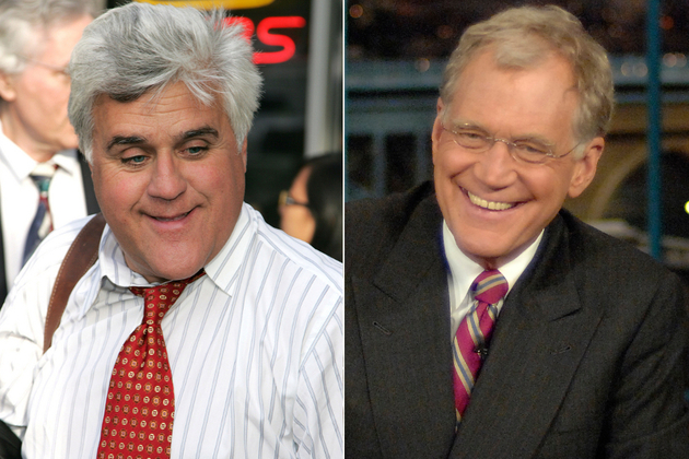 Jay Leno And David Letterman Fight