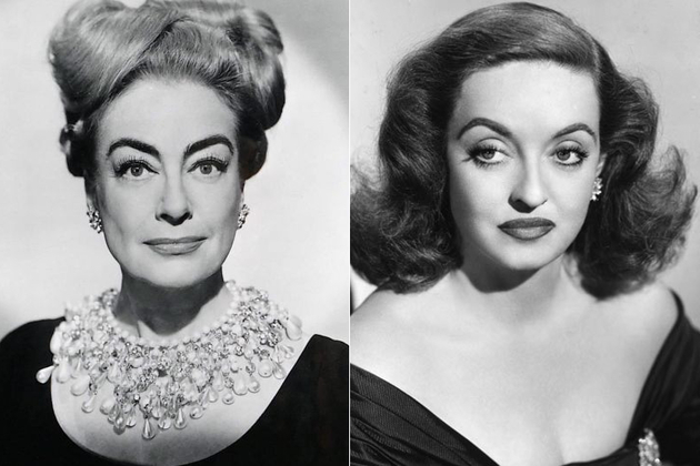 Joan Crawford And Bette Davis Fight