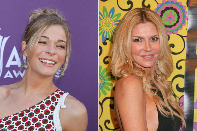 Leann Rimes And Brandi Glanville Fight