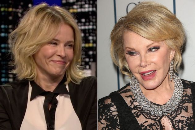 Chelsea Handler And Joan Rivers