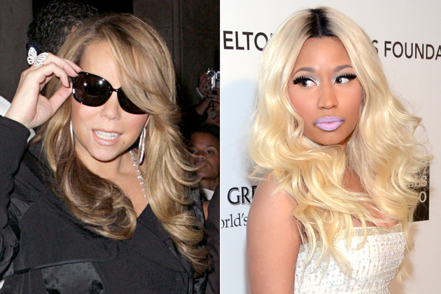 Mariah Carey And Nicki Minaj Fight