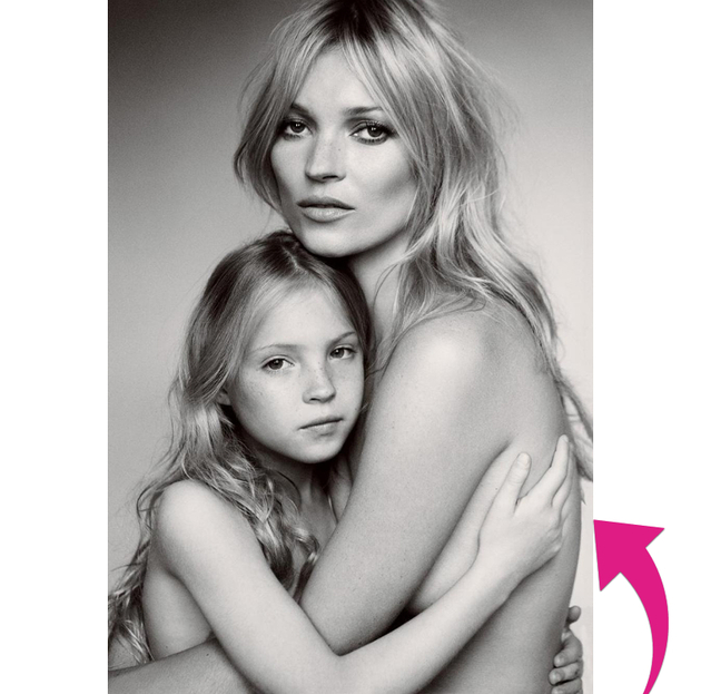 Kate Moss And Daughter Photoshop Fail