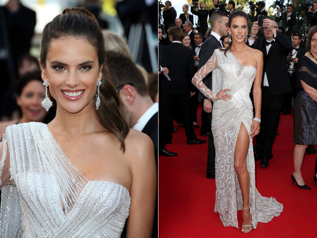 Alessandra Ambrosio Cannes 2014 Gown