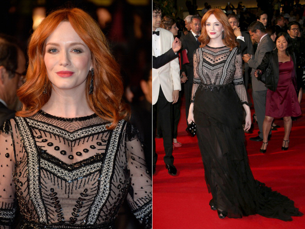 Christina Hendricks Cannes 2014 Dress