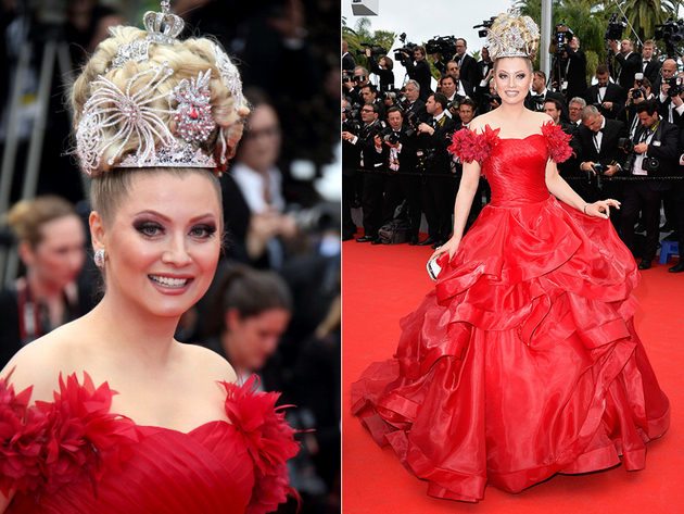 Elena Lenina Cannes 2014 Dress