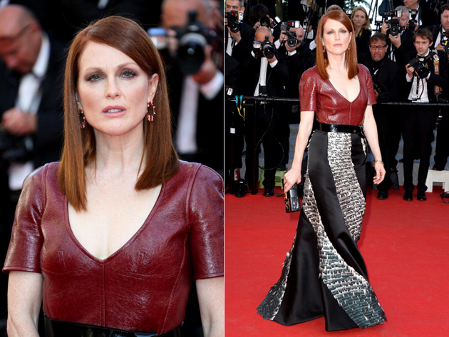 Julianne Moore Cannes 2014 Dress