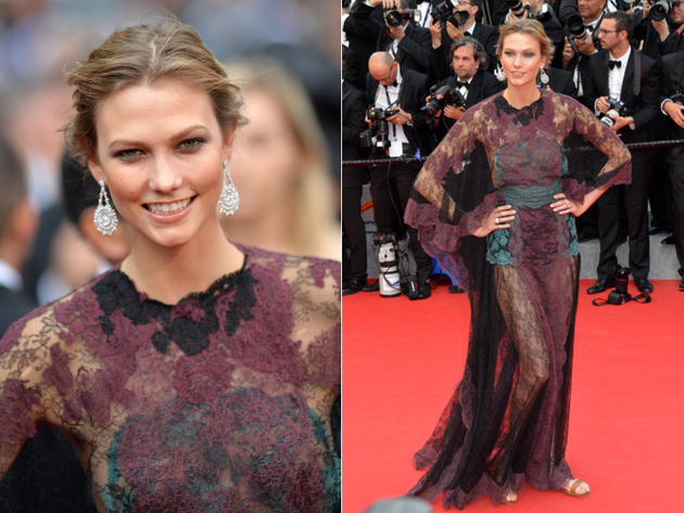 Karlie Kloss Cannes 2014 Dress