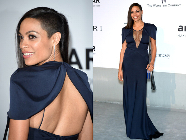 Rosario Dawson Cannes 2014 Dress