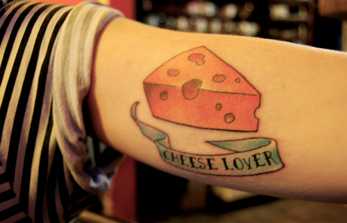 Cheese Lover Tattoo