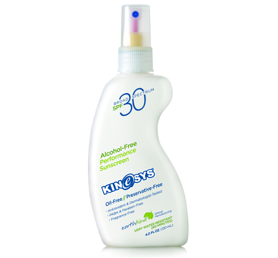 Kinesys Spf 30 Fragrance Free Sunscreen Spray