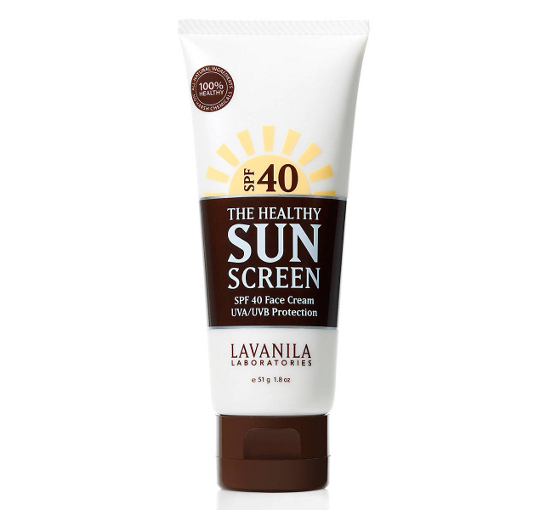 Lavanila The Healthy Sun Screen Spf 40 Face Cream