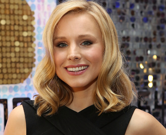 Kristen Bell Close Set Eyes