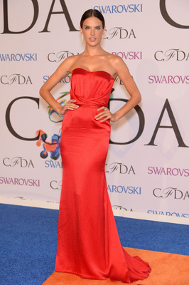 Alessandra Ambrosio Dress 2014 Cfda Awards