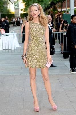 Blake Lively Dress 2014 Cfda Awards