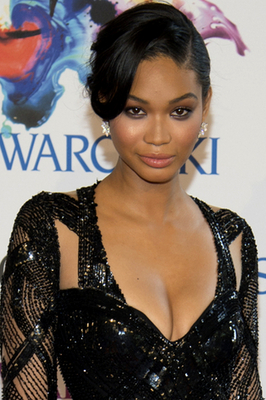 Chanel Iman 2014 Cfda Awards