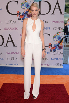 Jessica Stam 2014 Cfda Awards