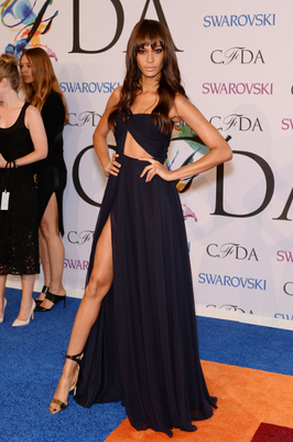 Joan Smalls Dress 2014 Cfda Awards