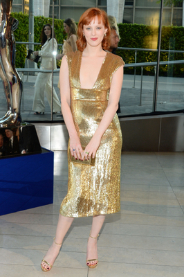 Karen Elson Dress 2014 Cfda Awards
