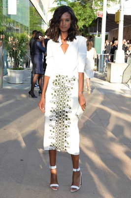 Liya Kebede Dress 2014 Cfda Awards