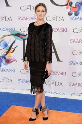 Olivia Palermo Dress 2014 Cfda Awards