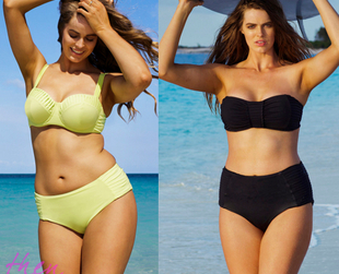 It seems that the plus size modeling industry is losing some pretty big names as the following world renowned plus size models have lost a significant amount of weight.