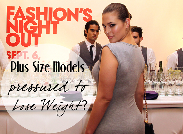 Are Plus Size Models Pressured to Lose Weight?