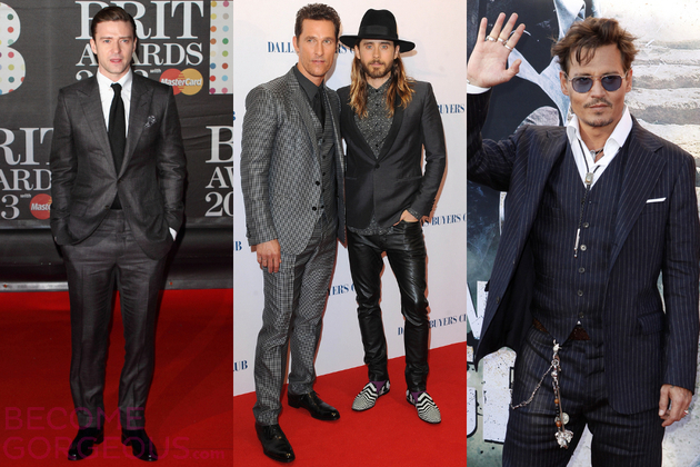 Best Dressed Men in Hollywood