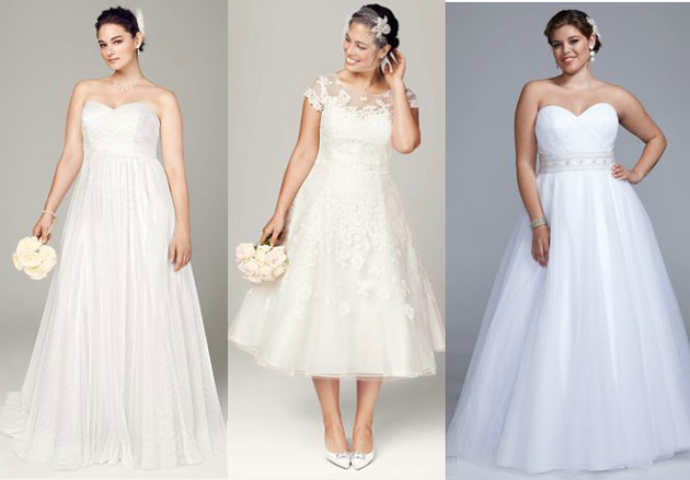 David's Bridal Plus Size Dresses